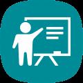 Person Giving Presentation Icon